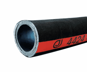 "4424-0400-100 Jason Industrial 4424 Nitrile Petroleum Suction Hose - Black - 400 PSI - 4"" ID - 4.92"" OD - 100ft"