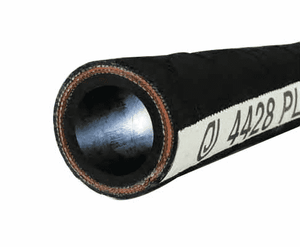 "4428-0200-100 Jason Industrial 4428 Plaster and Grout Hose - Black - 800 PSI - 2"" ID - 2.76"" OD - 100ft"
