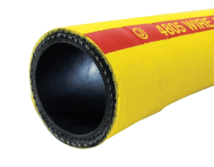 "4805-0100-050 Jason Industrial 4805 Wire Reinforced Air Hose - Bright Yellow - 600 PSI - 1"" ID - 1.49"" OD - 50ft"