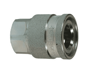 "4EAF4 Dixon 1/2"" Steel Hydraulic Water-Blast Quick Coupler - 1/2"" - 14 NPTF Thread"
