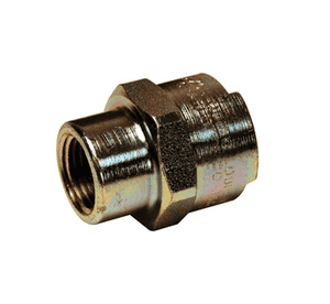 "4NBF3 Dixon Steel N-Series Quick Disconnect 1/2"" Bowes Interchange Pneumatic Coupler - 3/8""-19 Female BSPP"