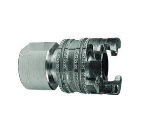"4PF4 Dixon Steel P-Series Quick Disconnect 1/2"" Thor Interchange Pneumatic Coupler - 1/2""-14 Female NPTF"