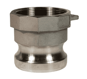 "50-A-SS Dixon 1/2"" 316 Stainless Steel Boss Lock Type A Adapter"