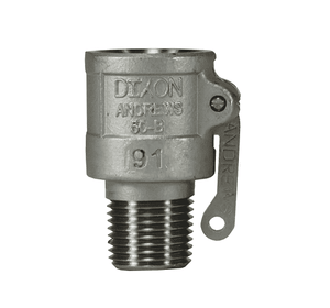 "50-B-SS Dixon 1/2"" 316 Stainless Steel Type B Coupler"