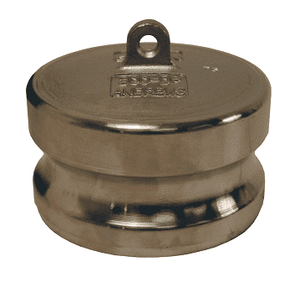 "400-DP-SS Dixon 4"" 316 Stainless Steel Boss-Lock Type DP Dust Plug"