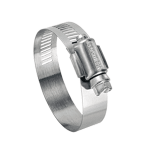 "5036051 Ideal Tridon Hy-Gear® Worm Gear Clamp 50-0 Series - 200 Stainless Steel - 9/16"" Band Width - Clamp Range: 3/4"" to 2-3/4"" - Pack of 10"