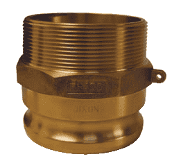 "100-F-BR Dixon 1"" Brass Boss Lock Type F Adapter"