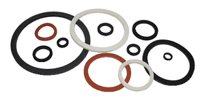 150-G-WNE Dixon Cam and Groove Gasket - White Neoprene - 1-1/2""