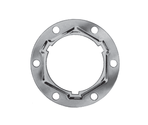 "150-22-8 Eaton 5100 Series Quick Disconnect Couplings Six Bolt Flange Assembly - 3/8"" & 1/2"" Body Size"