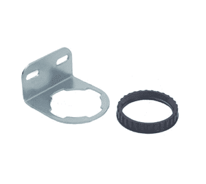 5203-06 Dixon Series 1 Filter/Regulator Accessories - Mounting Bracket with Plastic Panel Nut - used on R08, B08