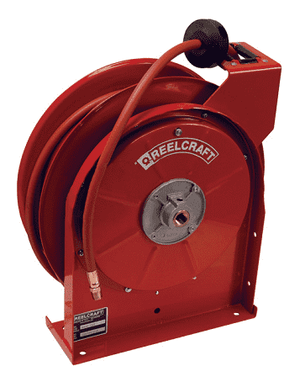 "5450LP Dixon Reelcraft 5000 Series Steel Spring Driven Hose Reel (with Hose) - 1/4"" Hose ID - 50ft Hose Length"