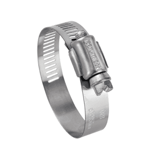 "5740051 Ideal Tridon Hy-Gear® Worm Gear Clamp 57-0 Series - 200 Stainless - 1/2"" Band Width - Clamp Range: 1"" to 3"" - Pack of 10"