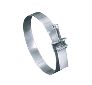 "5915051 Ideal Tridon Wraplock® Clamp 59-0 Series - Galvanized Steel - 1/2"" Band Width - Clamp Range: 1"" to 4-1/2"" - Pack of 100"