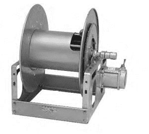 6000 Hannay Electric Powered Rewind Reel (EP-6016-25-26) 12 Volt DC