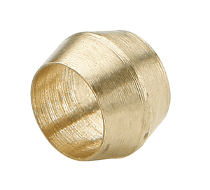"60C-04 Dixon Brass Compression Fitting - Brass Sleeve - 1/4"" Tube Size"