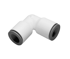 "63025600WP2 Dixon LIQUIfit Nylon Union Elbow - 1/4"" Tube to Tube - Pack of 10"