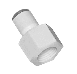"632556133WP2 Dixon LIQUIfit Nylon Faucet Connector - 1/4"" Tube to 7/16-24 Female UNS - Pack of 10"