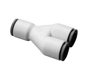 "63406000WP2 Dixon LIQUIfit Nylon Union Y Connector - 3/8"" Tube to Tube to Tube - Pack of 10"