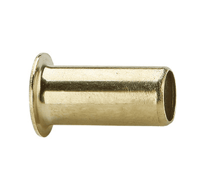 "63PT-0216 Dixon Brass Compression Fitting - Brass Insert - 1/8"" Tube Size x .016 Wall Thickness"