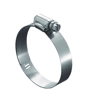 "6506E51 Ideal Tridon Lined Worm Gear Clamp 65E Series - 300 Stainless - 9/16"" Band Width - Clamp Range: 1/2"" to 7/8"" - Pack of 10"