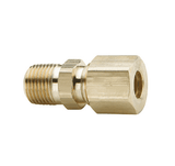 "68C-1012 Dixon Brass Compression Fitting - Male Connector - 5/8"" Tube Size x 3/4"" Pipe Thread"