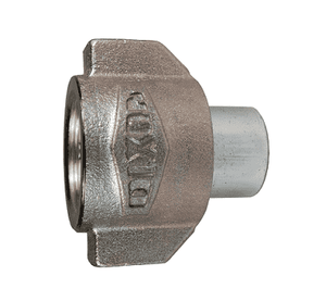 "8WSF8 Dixon 1"" Steel WS Series High Pressure Coupler - 1""-11-1/2 NPTF Thread"