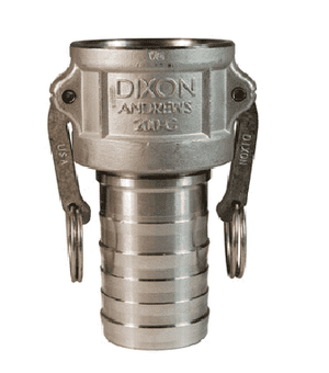 "150-C-SS Dixon 1-1/2"" 316 Stainless Steel Type C Coupler"