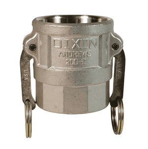 "150-D-SS Dixon 1-1/2"" 316 Stainless Steel Type D Coupler"