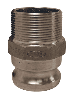 "100-F-AL Dixon 1"" 356T6 Aluminum Boss Lock Type F Adapter"