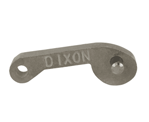 "100-HP-SP Dixon 1"" 316 Sintered Stainless Steel Standard Handle Assembly - Cam Arm and Pin"