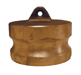 "100-DP-BR Dixon 1"" Brass Boss-Lock Type DP Dust Plug"