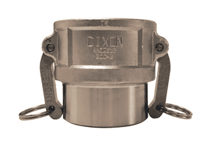 "150DWBPSTSS Dixon 1-1/2"" 316 Stainless Steel Coupler for Welding - Butt Weld to Schedule 40 Pipe / Socket Weld to Nominal OD Tubing - 1.515 Bore"