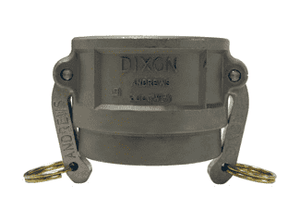 "500DWSPSS Dixon 5"" 316 Stainless Steel Coupler for Welding - Socket Weld to Schedule 40 Pipe - 5.593 Bore"