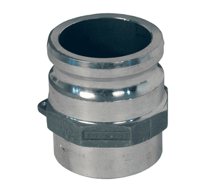 "150AWBPSTAL Dixon 1-1/2"" 356T6 Aluminum Adapter for Welding - Butt Weld to Schedule 40 Pipe / Socket Weld to Nominal OD Tubing - 1.515 Bore"