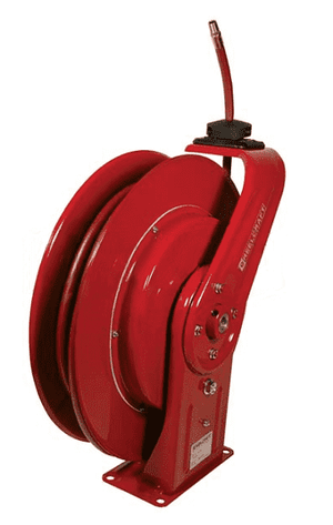 "7670LP Dixon Reelcraft 7000 Series Steel Spring Driven Hose Reel (with Hose) - 3/8"" Hose ID - 70ft Hose Length"