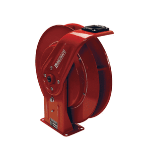 "7800LP Dixon Reelcraft 7000 Series Steel Spring Driven Hose Reel - Hose Capacity: 70ft of 3/8"", 50ft of 1/2"""