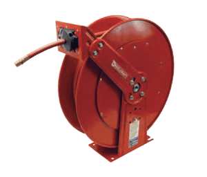 "82100LP Dixon Reelcraft 80000 Series Steel Spring Driven Hose Reel (with Hose) - 1/2"" Hose ID - 100ft Hose Length"