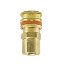 "A-2803 ZSi-Foster Quick Disconnect A70 Series 1/4"" Standard Socket - 1/8"" FPT - Brass"