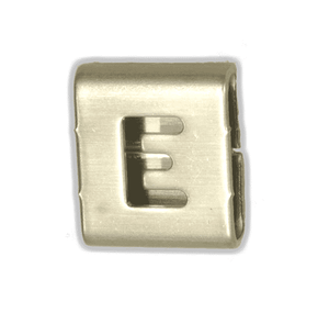 "AE0149 Band-It Easy Read Character ""E"" - 316SS - 100 Pieces/Bag"