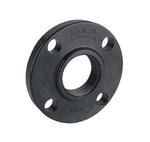 "AF200 Banjo Polypropylene 150# Threaded ANSI Flange - 2"" Female Thread"