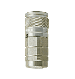 "B-4FF4-FP ZSi-Foster Quick Disconnect FF Series Socket - 1/2"" - Thread Size - 1/4-14 FPT"