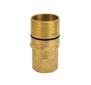 "B-6115-24 ZSi-Foster Quick Disconnect FWN Series Plug - 1-1/2"" - NPTF Thread: 1-1/2 - 11-1/2 - with Flange"