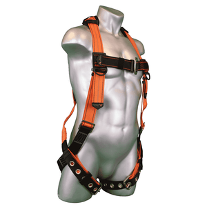 B2006-X Malta Dynamics Warthog® Tongue and Buckle Full Body Harness with X-Pad (XS)