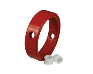 "B5102-RKS150 Dixon Red Silicone Sanitary Repair Kit for Clamp Butterfly Valves - 1-1/2"" Valve Size"