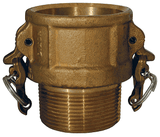 "BB400 Dixon 4"" Brass Boss-Lock Type B Coupler"