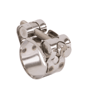 "BC090 Banjo 300 Stainless Steel Two Barrel Hardware Clamp - 3/4"" Floating Bridge with Lockwasher - Min/Max Dia.: 0.91""/0.98"" - Max. Torque: 75 in. lbs"