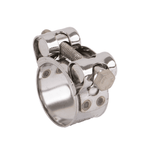 "BC114 Banjo 300 Stainless Steel Two Barrel Hardware Clamp - 1"" Floating Bridge with Lockwasher - Min/Max Dia.: 1.14""/1.22"" - Max. Torque: 75 in. lbs"