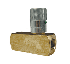 "BFC400 Dixon Brass Flow Control Valve - Series F - 1/4"" Thread"