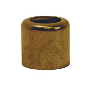 "BFW975 Dixon Brass Ferrule for Medium Weight Water Hose - .975"" ID - 25 Pack"