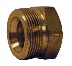 "BGB13 Dixon 1"" Brass Ground Joint - Female Spud"